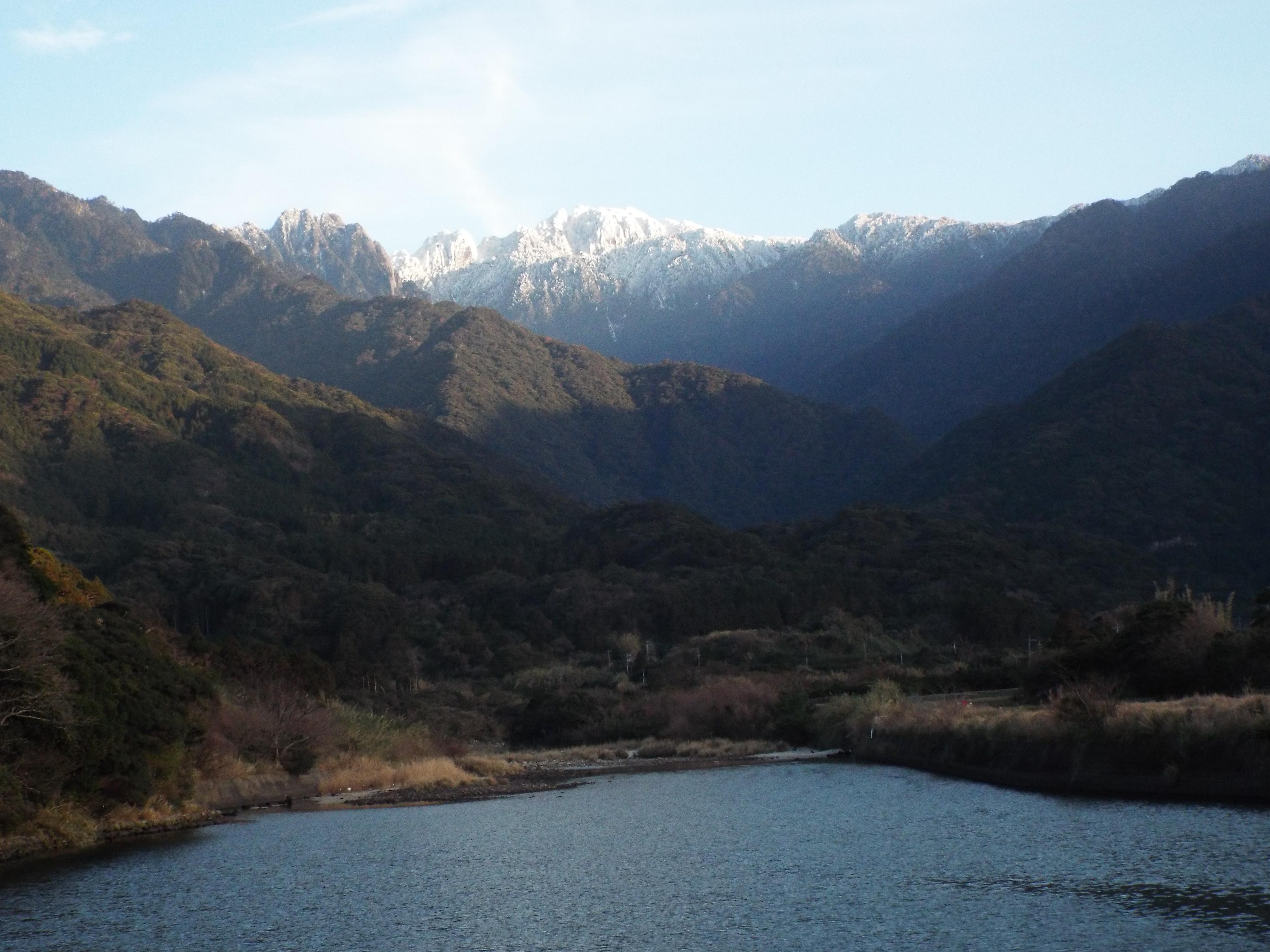 雪の永田岳